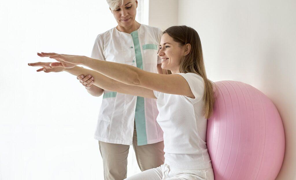 Fizioterapie - Clinica de recuperare medicala Flexmed Constanta. Fizioterapia are importante efecte antialgice (calmarea durerii)...